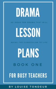 Drama lessons book one Cover