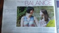 The Balance - newspaper article